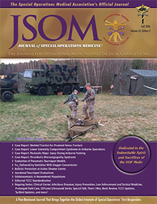Fall 2016 Journal of Special Operations Medicine